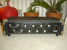 Univox U600L, 2 Channel Mixer Power Amplifier with Equalizer, Vintage Unit