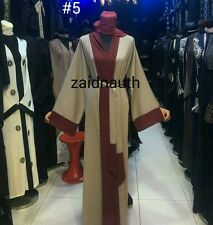 New open front abayas/dress/islamic wear/saudi women dress.size 52 54.56.58-2016