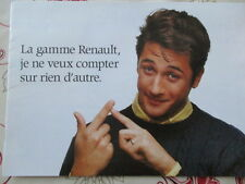 CATALOGUE AUTO : RENAULT : GAMME ANNEES 1990