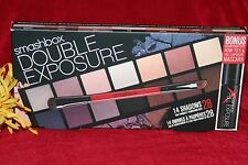 SMASHBOX DOUBLE EXPOSURE PALETTE BRUSH MASCARA 14 EYESHADOW SET BOXED AUTHENTIC