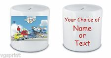 CITY OF FRIENDS PERSONALISED WHITE CERAMIC MONEY BOX / PIGGY BANK FAST POSTAGE