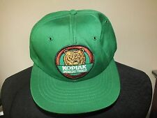 Vintage Kodiak Smokeless Tobacco One Size SnapBack Trucker Hat Cap Green