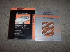 1997 Toyota Paseo Shop Service Repair Manual + Electrical Coupe Convertible 1.5L