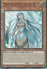 3 X YU-GI-OH ULTRA RARE CARD: MAIDEN WITH EYES OF  BLUE - LDK2-ENK06 1ST EDITION