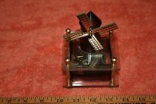 Vintage Westland Co. Original Made in Japan Musical Windmill Statue
