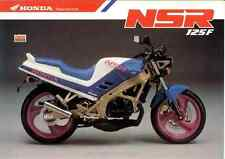 Honda NSR125 F R Taller Manual De Servicio JC20 1998-Bound Papel 94 no copia PDF