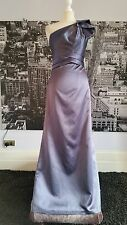 Dessy Abito (stormy-size 16) Prom, ball, DAMIGELLE, NOZZE ETC RRP £ 200 +