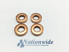 Renault Kangoo 1.5 DCI Common Rail Diesel Injector Washers/Seals x 4