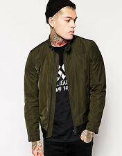 DIESEL J-HOLLIS MILITARY GREEN JACKET SIZE L 100% AUTHENTIC