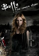POSTER BUFFY L'AMMAZZAVAMPIRI THE VAMPIRE SLAYER SUMMERS SEXY HOT SEX FOTO TV 2