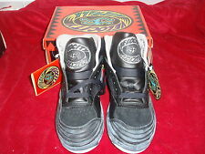 VINTAGE NOS 1980s AIRWALK VELOCITY BURNOUT BLK/GREY GUYS SZ 6 GIRLS 7.5 SK8 BMX