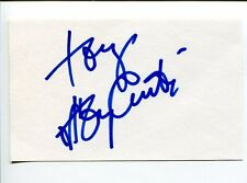 Tony Curtis Some Like It Hot Houdini The Defiant Ones Rare Signed Autograph