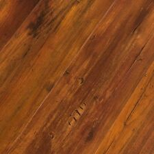 Luxury Vinyl Click Floor Plank 4mm Featherweight Smoked Hickory- SAMPLE