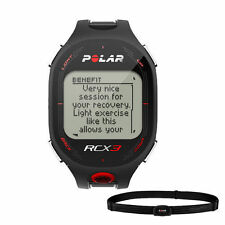 Polar RCX3 Sports Watch Heart Rate Monitor Black 90042145
