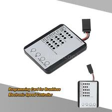 Programming Card for RC Car ESC Brushless Electronic Speed Controller Super A4E9