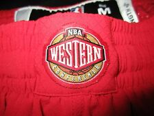 NWOT AUTHENTIC ADIDAS NBA 2013 WESTERN ALL STAR SHORTS M ON COURT GAME