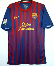 "Barcelona FC 2011/2012 Nike Home Shirt S SMALL 35"" - 37"" Adult Mens 11/12"