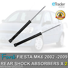 FORD FIESTA MK6 REAR SHOCK ABSORBERS 2002 - 2009 SHOCKS SHOCKERS PAIR x 2 NEW