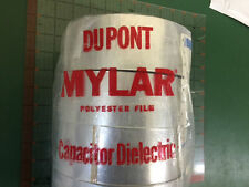 "DUPONT Mylar Polyester Film Capacitor Dielectric Tape 40C 1375ft  1 ROLL 2"" wide"