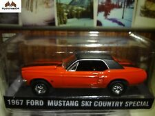 Greenlight 1967 Ford Mustang Ski Country Special 1:64 Scale New in Clamshell