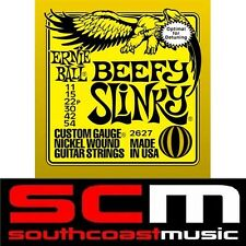 BEEFY SLINKY 2627 ERNIE BALL ELECTRIC GUITAR STRING SET 11-54 GAUGE STRINGS