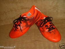 adidas mens / older boys orange football boots trainers size 5.5