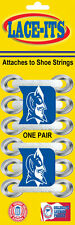 "Duke Blue Devil ""logo"" Shoe Lace Accessory (Logo attaches to shoe strings)"
