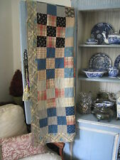 """ANTIQUE~VINTAGE & VERY COLLECTABLE THIS 65"""" X 78"""" CUTTER QUILT"""
