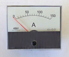 R59 DC ammeter for use with shunt 0-150amps     R59150AS