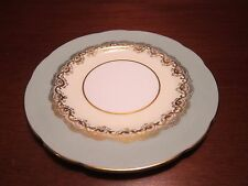 Paragon Dessert Plate Green and Gold Pattern by Appointment Multi Avail