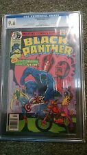 BLACK PANTHER #14 CGC 9.6 WHITE PAGES MARVEL COMICS 1979 WHITE PAGES