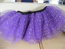 WOMENS/GIRLS PURPLE NETTED TUTU ONE SIZE