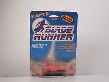 VINTAGE ERTL BLADE RUNNER RACHAEL'S SPINNER NEW ON CARD DIECAST 1982 MADE IN USA