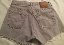 "Levi's 501 Cut Off Urban Outfitters Shorts Galt Melville Size 32 With 30"" Waist"
