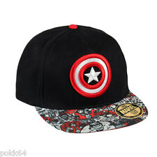 Marvel Comics casquette New Era Premium Captain America Shield hip hop cap 13834