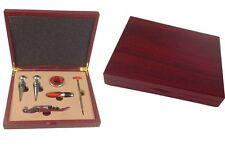Accessoires pour le vin 16-4 set Décapsuleur de bouteille de vin Boîte en bois