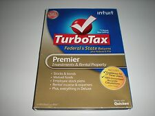 Turbotax 2012 Premier w/ state. Ugly Box. New sealed blemished box.