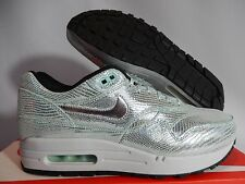 WMNS NIKE AIR MAX 1 QS PARTY PACK DISCO BALL SILVER-GLACIER SZ 8 [633737-001]