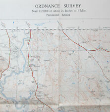 1950 OS Ordnance Survey 1:25000 First Series Prov Map NX 85 Dalbeattie Forest