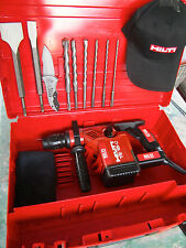 HILTI TE 15-C HAMMER DRILL, EXCELLENT CONDITION, FREE BITS & CHISELS, FAST SHIP