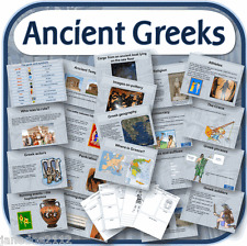 KS2 History ANCIENT GREECE GREEKS Primary IWB & worksheets teaching resources CD