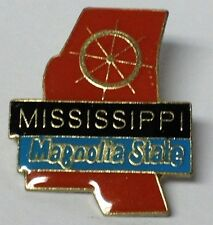 MISSISSIPPI STATE LAPEL PIN HAT TAC NEW