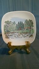"Lord Nelson Pottery England 4"" Plate Badger's Holt, Dartmeet 7-67"