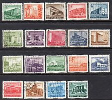 """Hungary: 19-1951 1952 & 1953 """"Budapest Buildings"""" Used  Issues (Reduced Postage)"""