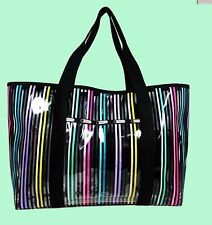 LESPORTSAC HAVEN Multi-color Clear PVC Tote Bag Msrp $125.00