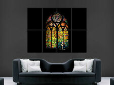 BANKSY POSTER STAINED GLASS LA USA WINDOW GRAFFITI STREET ART PICTURE ART WALL