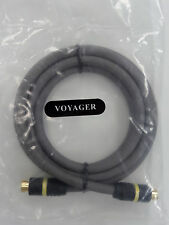 Lot of 25 x Revelation - Voyager - 1.5 Meter/4.9 Feet S-Video Cable