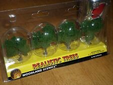 """Diorama / Realistic Trees, 2""""--3"""" inches Tall,Woodlands,Railroad Scales: HO/N/O"""