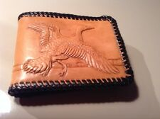 Vintage Hand CRAFTED  D.AUSTIN  Leather WalleT