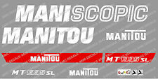 Manitou MT1335SL Maniscopic calcomanías Pegatina Set